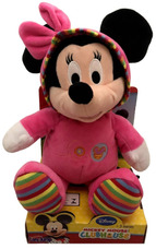 dec420f72 Boneca De Pelúcia Minnie Mouse Baby Rosa Disney Long Jump. R  139 90 12x ...