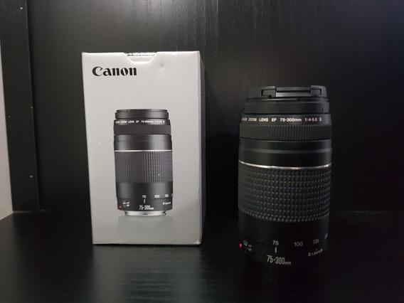 Lente Canon Ef 75-300 + Brinde
