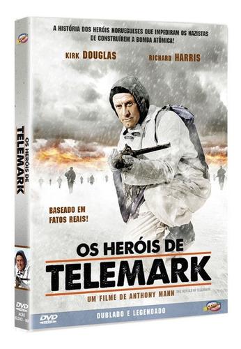 Dvd Os Herois De Telemark - Classicline - Bonellihq L19