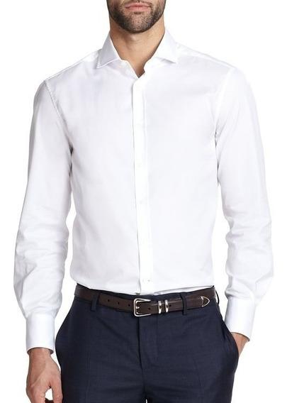 Camisa Social Masculina Branca Tamanhos Especiais