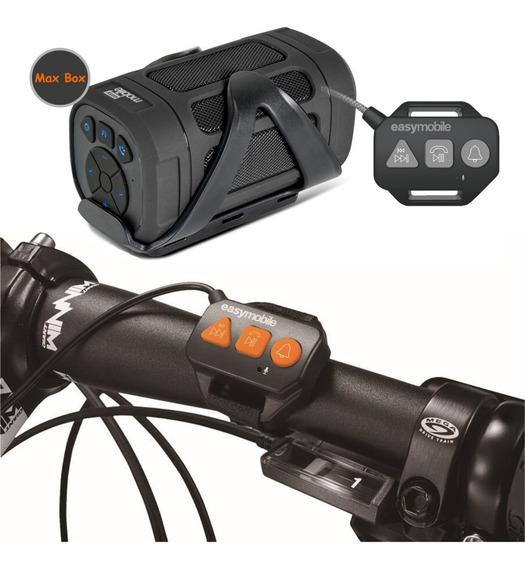 Caixa De Som Para Bicicleta, Bike, Bluetooth - Potente - Max