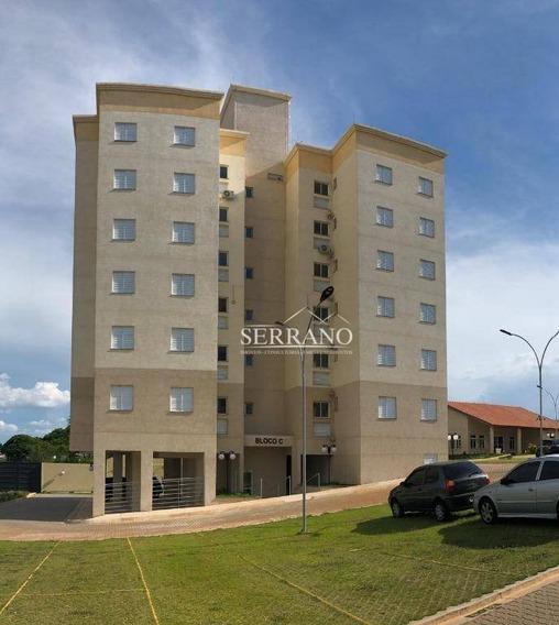 Apartamento Com 3 Dormitórios À Venda, 73 M² Por R$ 350.000,00 - Jardim Scomparim - Mogi Mirim/sp - Ap0232