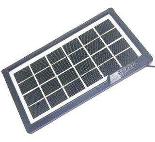 Painel Placa Solar Fotovoltaica Carrega Celular