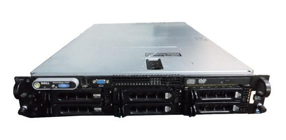 Servidor Dell 2950 2 Processador Xeon 16gb 1tb + Trilho