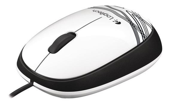 Mouse Usb Branco M105 Logitech