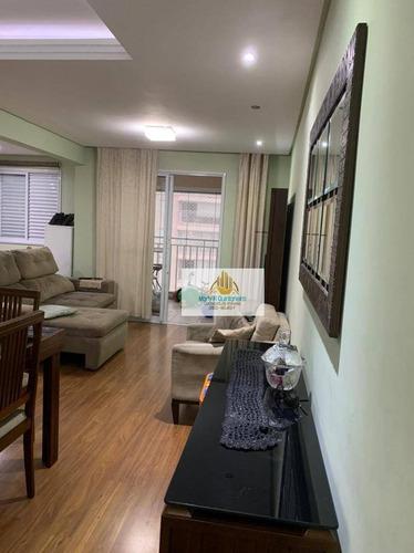 Imagem 1 de 18 de Apartamento Com 2 Dormitórios À Venda, 75 M² Por R$ 480.000,00 - Vila Augusta - Guarulhos/sp - Ap0097