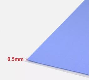 Thermal Pad Térmico Dissipador Esp 0.5mm 100 Unidades De 1cm