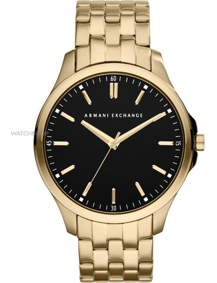 Relógio Armani Exchange Masculino Dourado Ax2145/4pn