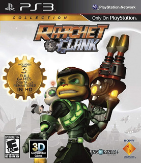 Ratchet & Clank Collection + Twisted Metal - 4 Juegos - Ps3