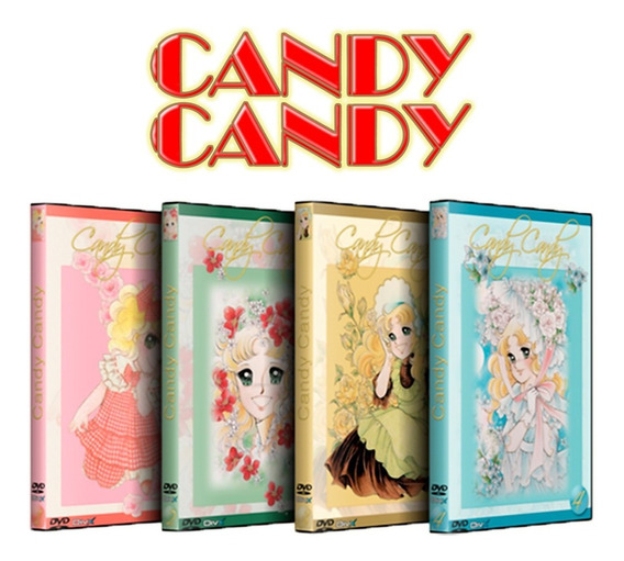 Candy Candy Serie Completa Dvd Retro Latino Para Coleccion