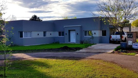 Casa A Estrenar En Manzanares Chico Lote 84