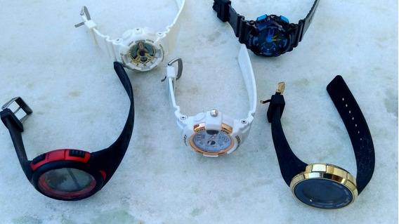 5 Relógios Atacado Para Reposição De Peças Conserto