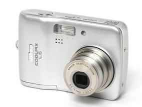 Camera Nikon Coolpix L6 Nova C Nfe E Garantia Fora Da Caixa