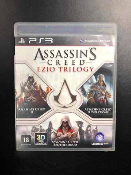 Assassins Creed Ezio Trilogy Ps3 Midia Física Seminovo