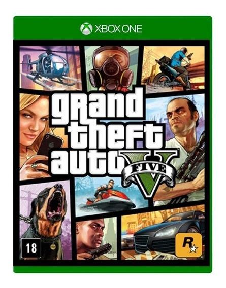 Grand Theft Auto V Xbox One Mídia Física Novo Lacrado