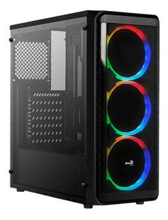 Chasis Caja Gabinete Atx Gamer Aerocool Si-5200 Rgb