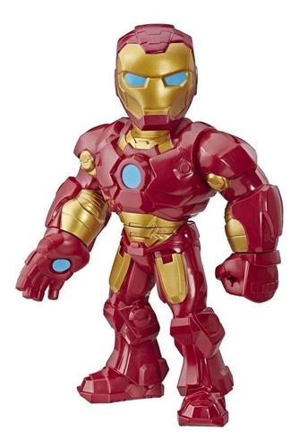 Imagem 1 de 1 de Figura Marvel Super Hero Mega Mighties Homem De Ferro Hasbro