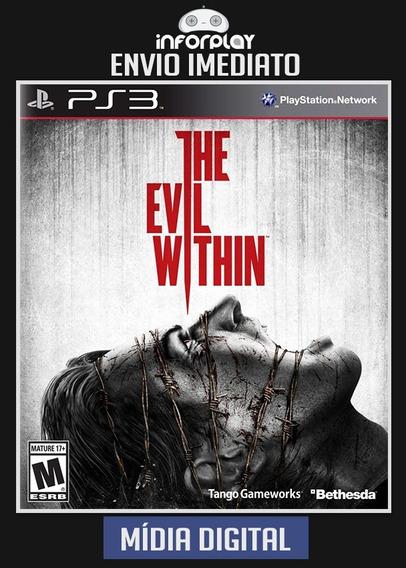 The Evil Within Ps3 Psn Envio Imediato