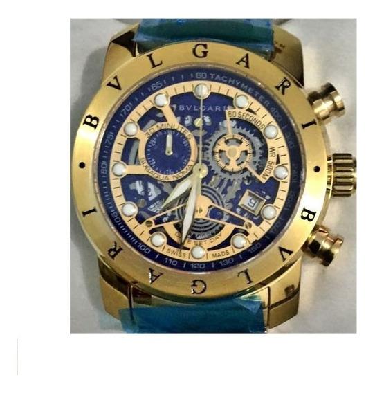 Relógio Masculino Bv Importado Dourado Oferta