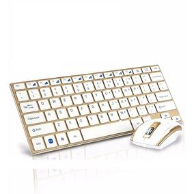Kit Teclado/mouse S/ Fio 2.4g Ultra Slim Hk -3910 -novo