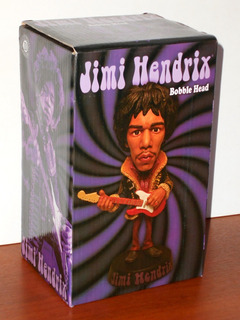 Jimi Hendrix Bobble Head - Drastic Plastic Collectibles