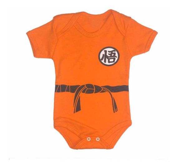 Promoção Body Goku Bebê Dragon Ball Temático Mesversário