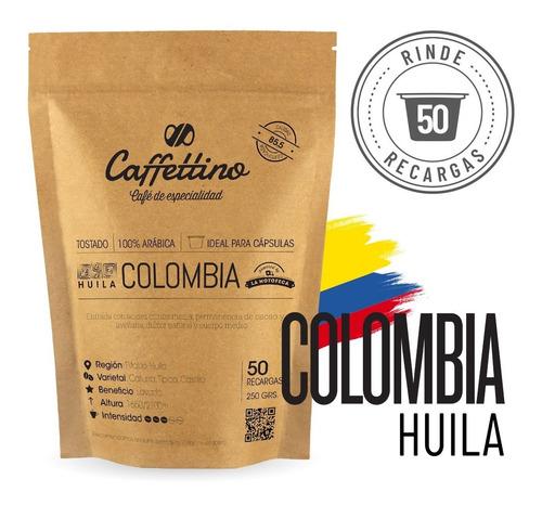 Imagen 1 de 8 de Café De Colombia Para Cápsulas Caffettino - Nespresso