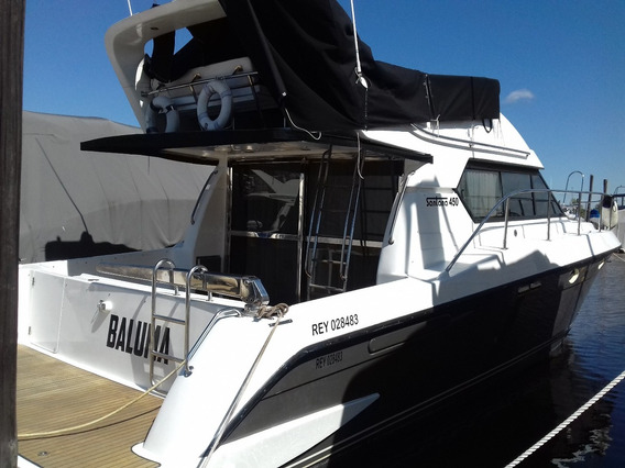 Barco Crucero Santana 450 - Caterpillar 3208 X 2 (300hp)
