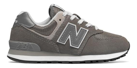new balance 574 niño gris