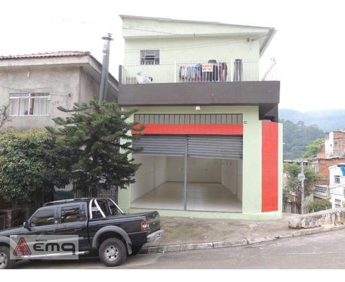Salão Para Alugar, 120 M² Por R$ 2.600/mês - Jardim Princesa - São Paulo/sp - Sl0052