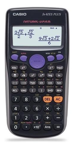 Imagen 1 de 1 de Calculadora Cientifica Casio Fx-82es Plus 252 Funciones