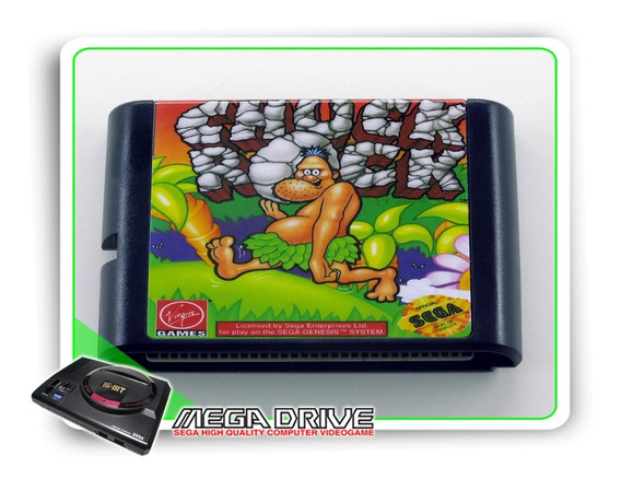 Chuck Rock Sega Mega Drive / Genesis - Novo