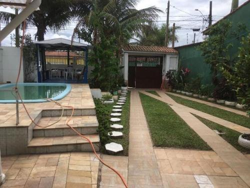 6061 Kym - Vende Casa Na Praia Com Piscina - Itanhaém/sp