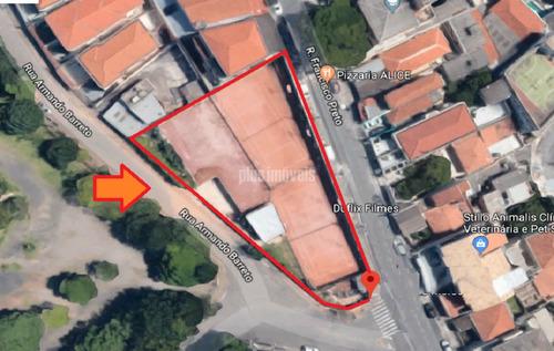 Terreno No Jardim Colombo, Morumbi, Frente Para Duas Ruas Zoneamento Misto, Com Projetos - Ab132428