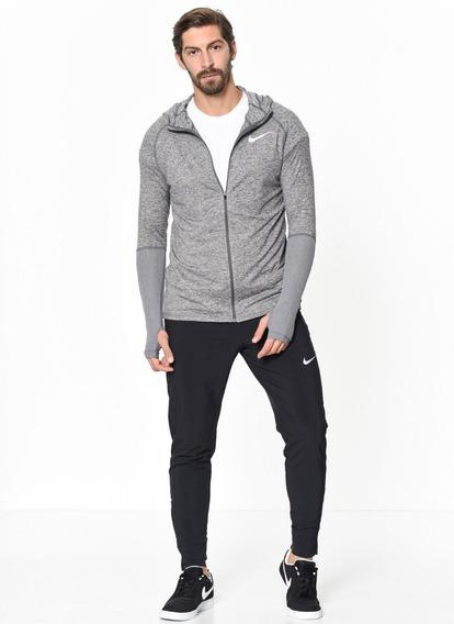 Sudadera Nike Running Con Gorro 928555 100% Original + Envío Gratis + Msi