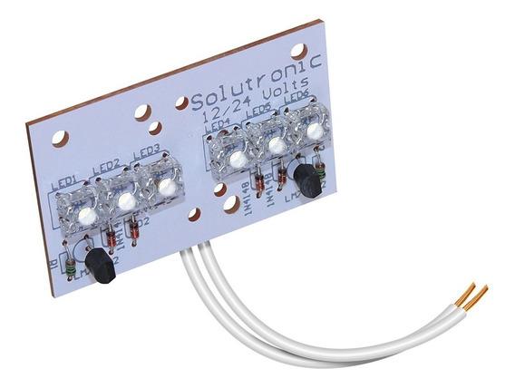 Plaqueta Electronica 6 Led Posicion Bai1035 Ap400/30 Blanco