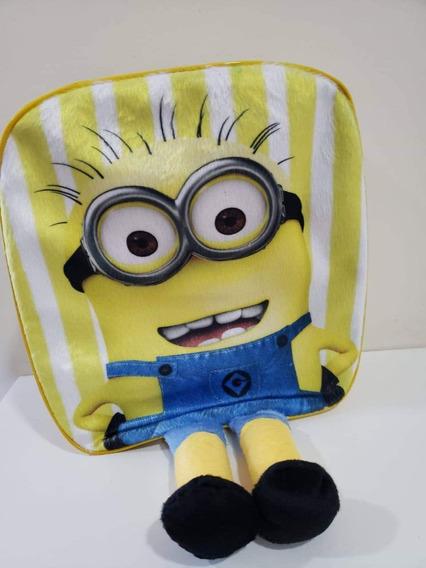 Mochilinha Passeio Infantil 3d Minions