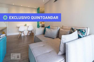 Apartamento No 3º Andar Mobiliado Com 1 Dormitório E 1 Garagem - Id: 892920086 - 220086