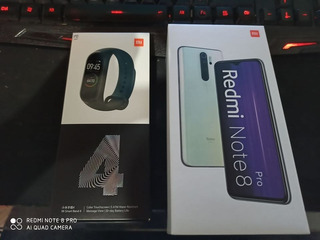 Redmi Note 8 6/64 Cinza + Mi Band 4