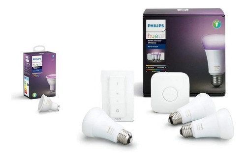 Philips Hue Kit White And Colors + Led Dicroica W&c Nueva