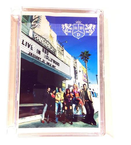 Rbd Live In Hollywood (dvd) Nuevo Original