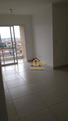 Apartamento Com 3 Dormitórios À Venda, 95 M² Por R$ 390.000 - Campos Elíseos - Ribeirão Preto/sp - Ap2531