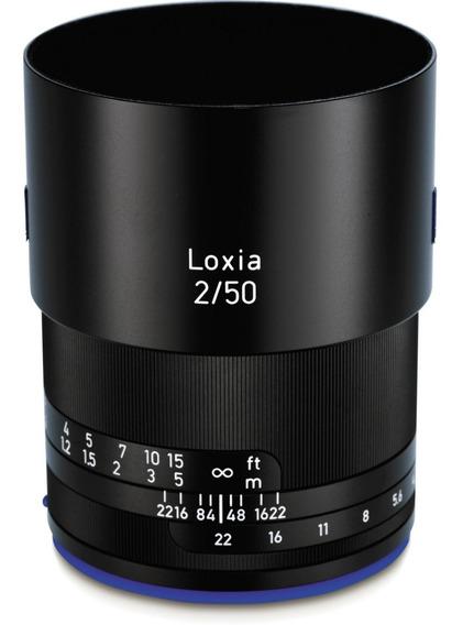 Lente Zeiss Loxia 50mm F/2.0 Para Sony E-mount