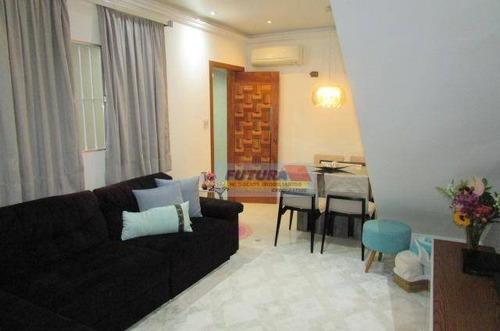 Imagem 1 de 15 de Casa À Venda, 82 M² Por R$ 400.000,00 - Vila Voturua - São Vicente/sp - Ca0457