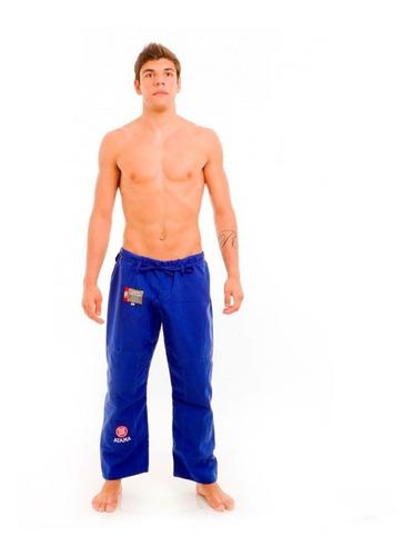 Calça Jiu Jitsu Atama Especial Azul Adulto Unissex