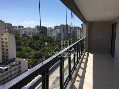 Apartamento Com 3 Dormitórios À Venda, 111 M² Por R$ 950.000 - Icaraí - Niterói/rj - Ap2398