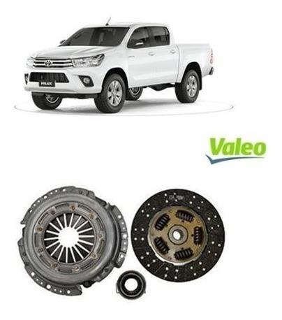 Kit Embreagem Toyota Hilux 2.5 / 3.0 16v 05/... Valeo