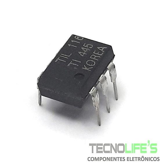 Ci Til116 Optoacoplador Transistor Npn 1 Canal 116