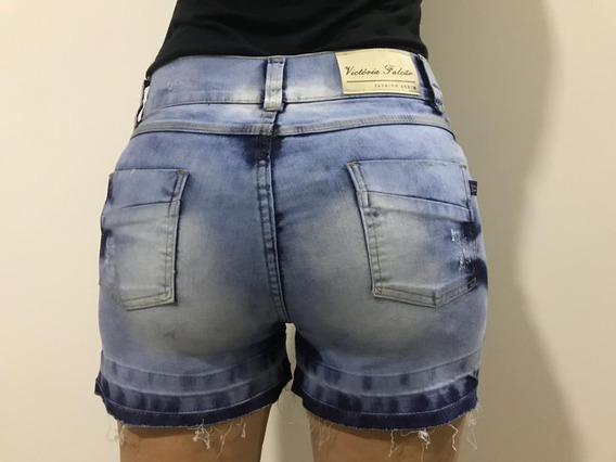 Shorts Jeans Feminino Desfiado Plus Size 44 46 Ao 64 66 3116