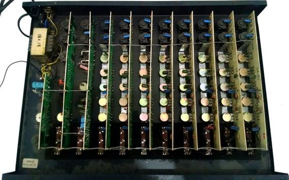 Mesa Oneal Omx 8 Mixer 8 Canais Para Reparo Peças Desmanche
